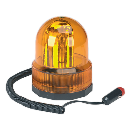 Rotating Amber Beacon 12V Magnetic Base