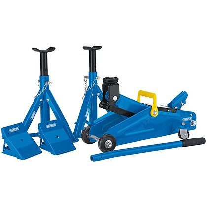2 TONNE TROLLEY JACK COMBINATION KIT
