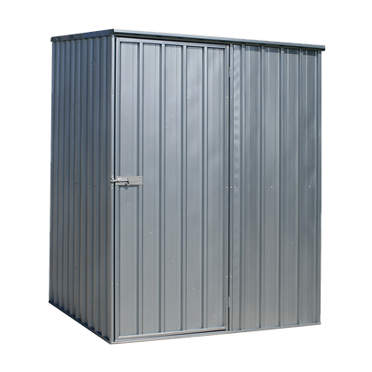 Galvanized Steel Shed 1.5 x 1.5 x 2m