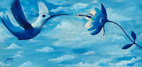 """Hummingbird"" - Original"