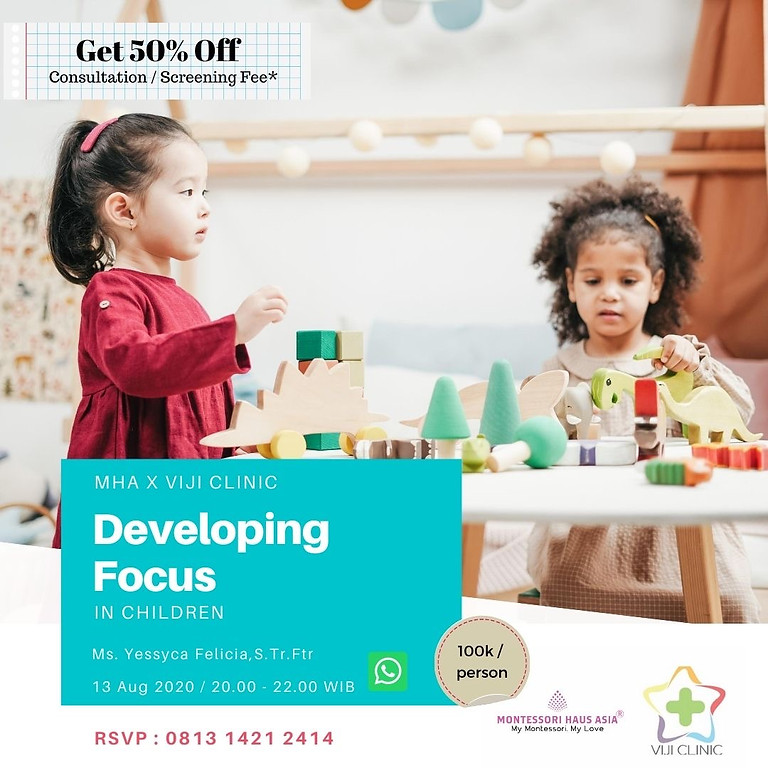 Developing Focus in Children
