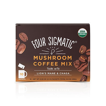 Four Sigmatic Coffee With Lion's Mane & Chaga Single Packet