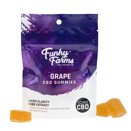 Funky Farms Grape CBD Gummies