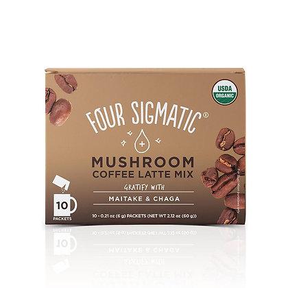 Four Sigmatic Mushroom Coffee Latte Mix Single Packet