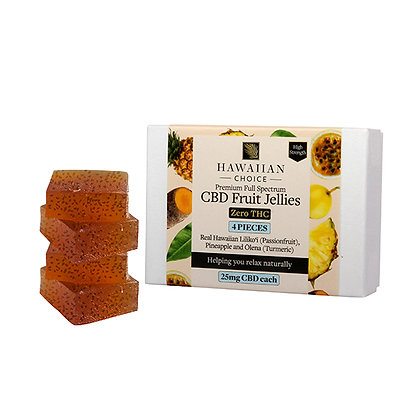 Hawaiian Choice CBD Fruit Jellies