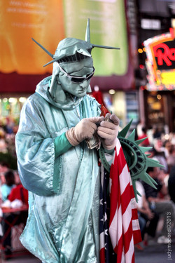Living The Dream in Times Square