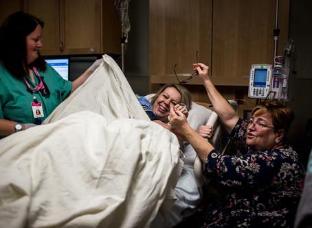 IMC, Murray, Utah | Empowering Birth of Baby Boy Part 1