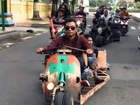 LA VESPA EN INDONESIA