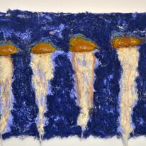 Caravelas in blue