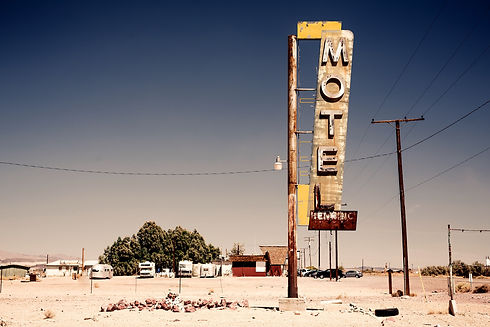 bigstock-Hotel-sign-ruin-along-historic-