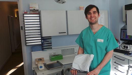 Sam Jarvis, Hygienist, Camden, London