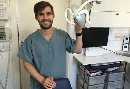 SAm JArvis, dental hygienist, Camden, London