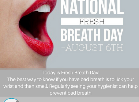 National Fresh Breath Day 2017