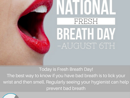 National Fresh Breath Day 2017
