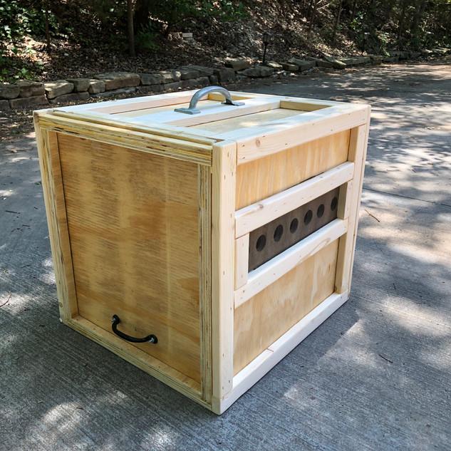 Hamerkop crate
