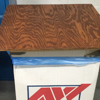 lunch table recycling box