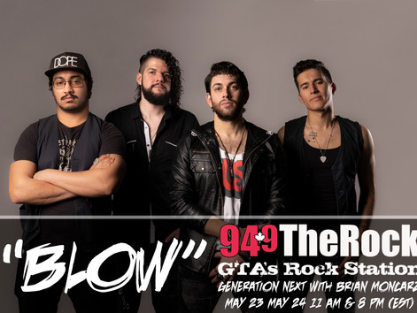 """94.9 The Rock Features """"Blow""""!"""