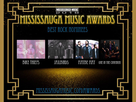 Mississauga Music Nominates OITC for Best Rock Band