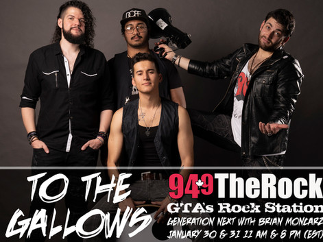 """94.9 The Rock Features """"To The Gallows"""""""