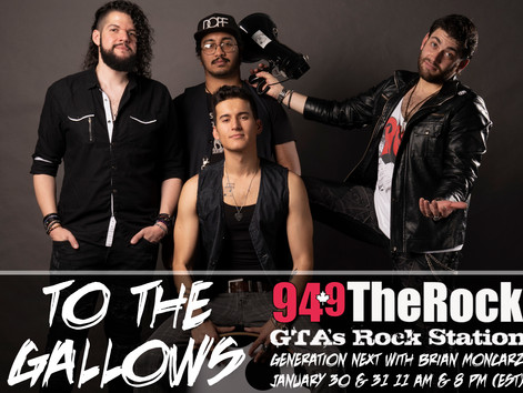 "94.9 The Rock Features ""To The Gallows"""