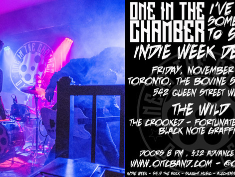 Sold Out: One In The Chamber Takes Over Indie Week