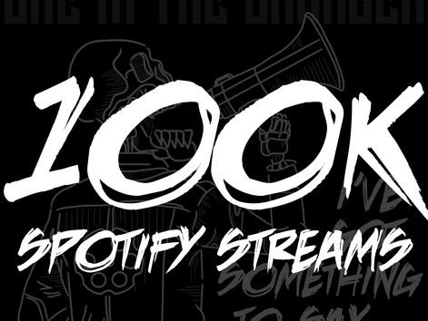"""""""I've Got Something To Say..."""" Hits 100K Streams!"""