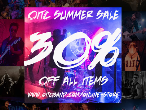 30% Off Everything: Enjoy The OITC Summer Sale