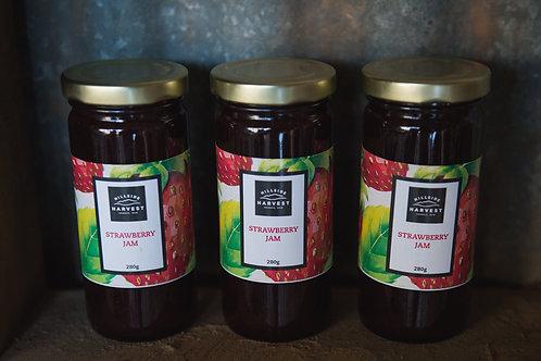 Hillside Harvest Strawberry Jam 280g