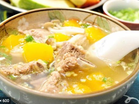 南瓜🎃排骨汤