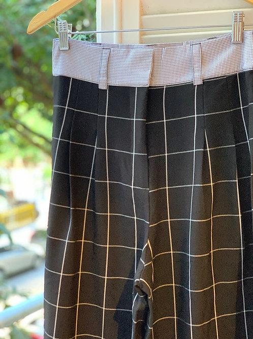 pantalona xadrez pb