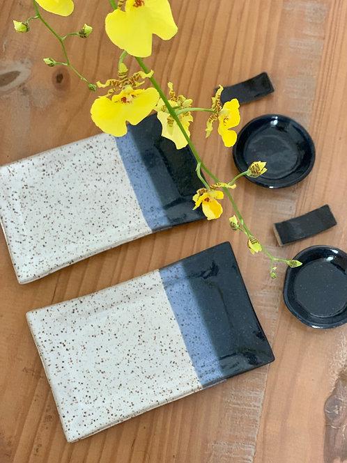 kit japonês de cerâmica - 1 pessoa