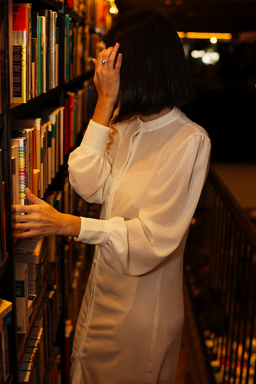 chemise manga bufante off