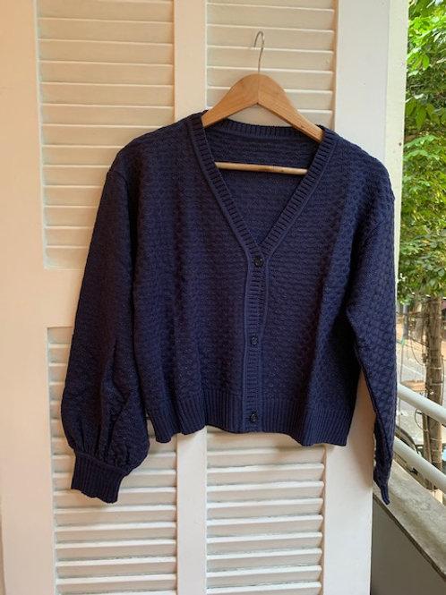 casaco tricot comfy