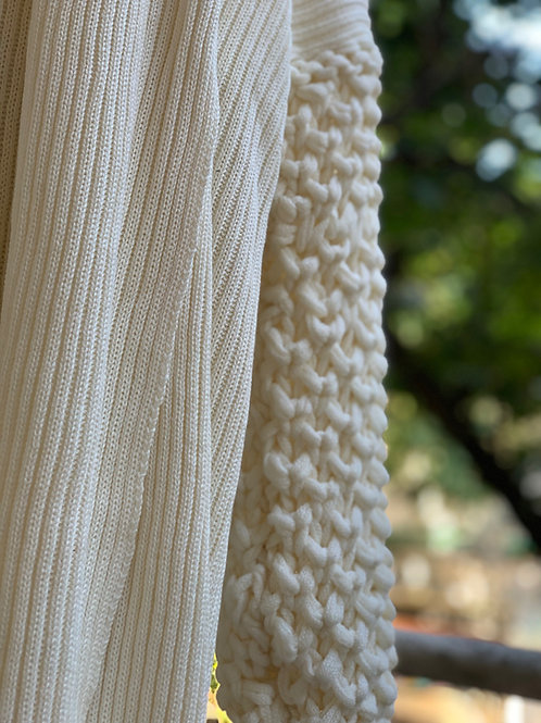 casaco tricot handmade