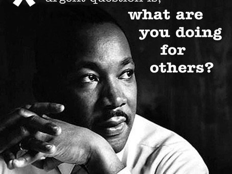 Some Hopefulness on Martin Luther King, Jr. Day
