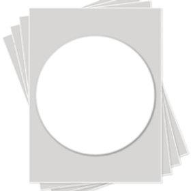 Circle Frosting Sheet