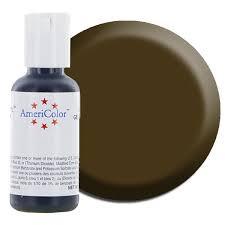 Americolor Gel Food Color-Chocolate Brown | Cake Supply Store-Huge ...