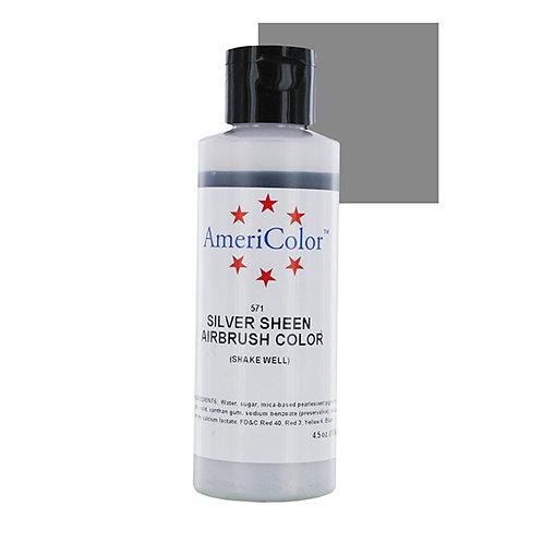 Amerimist Airbrush Color- Silver Sheen