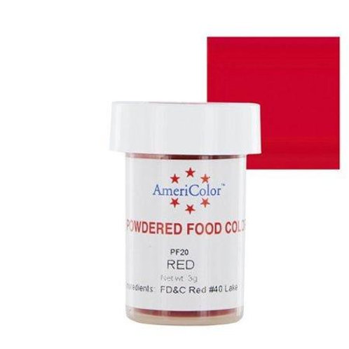 Americolor Powdered Food Color-Red
