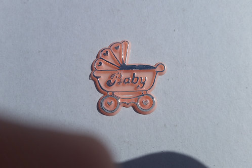 Stroller Cupcake Toppers