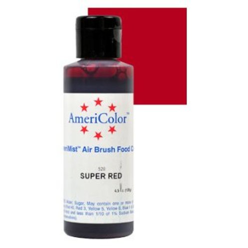Amerimist Airbrush Color-Super Red