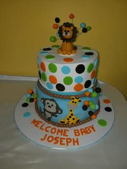 baby zoo cake