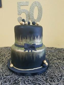 dulce 50th cake