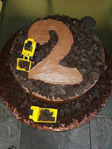 Children's Chocolate Birthday Cake