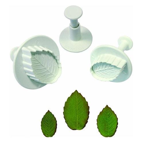 Rose Leaf Cutter Set