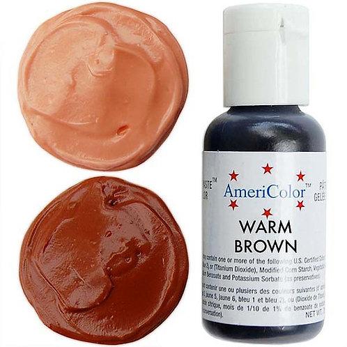 Americolor Gel Food Color-Warm Brown