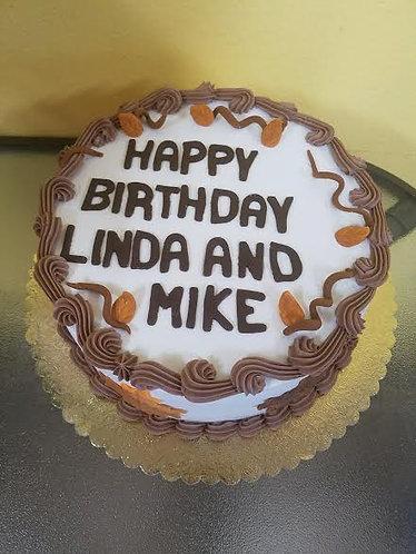 Chocolate Accent Birthday Cake