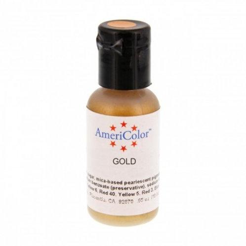 Amerimist Airbrush Color-Gold