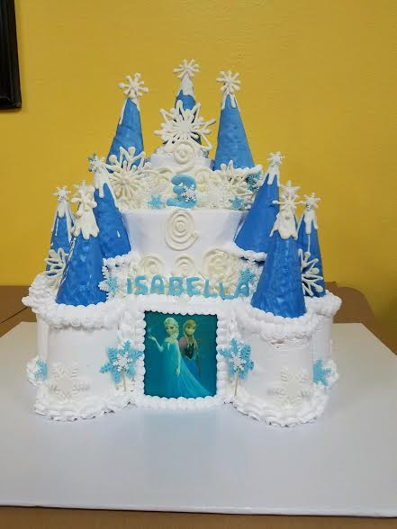 castle frozen cake