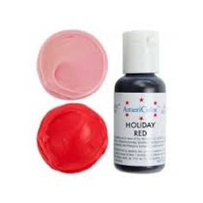 Americolor Gel Food Color-Holiday Red